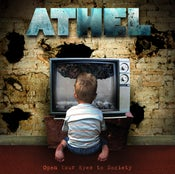 "Image of ""Open Your Eyes to Society"" Athel's debut full length album"