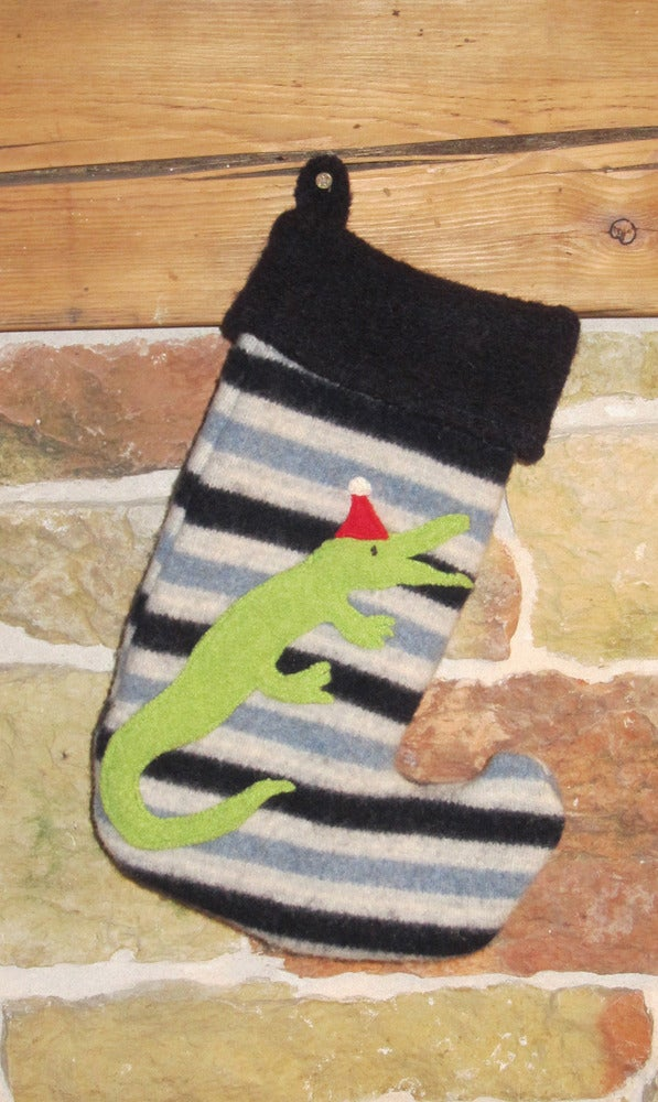 Image of Santa Croc has the Blues!