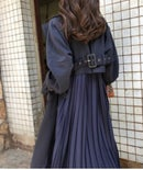 Image 2 of Pleated Back Trench Coat