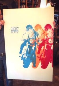 "Image of ""Tania & the Yamazuki"" Limited Edition Poster"