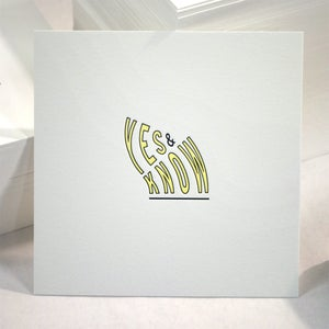 Image of Yes & Know print