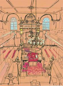 Image of Sandys Row Synagogue Print