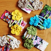 Image of crochet clips