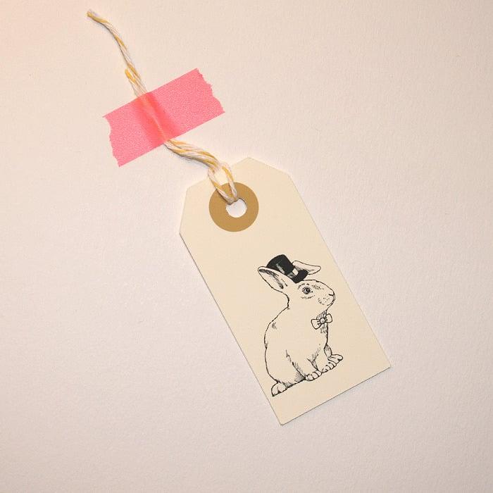 Image of Etiquettes cadeaux Animaux 1