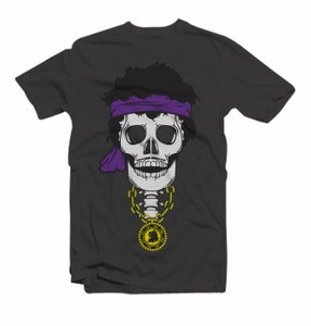 Image of Jimi Hendrix Skull