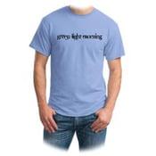 Image of Green Light Morning T-shirt Light Blue