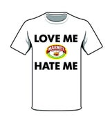 Image of Mens T-Shirt love or Hate me