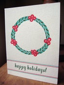 Image of holiday wreath
