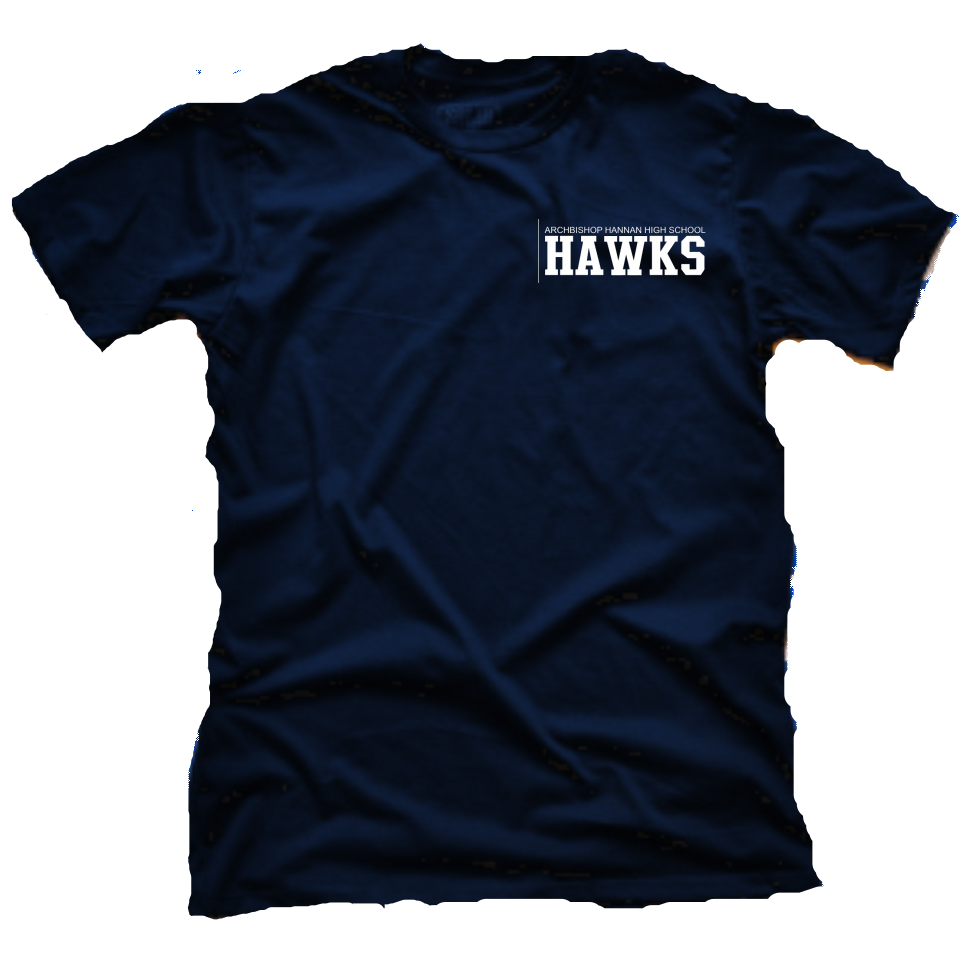Image of Hannan Navy Tee