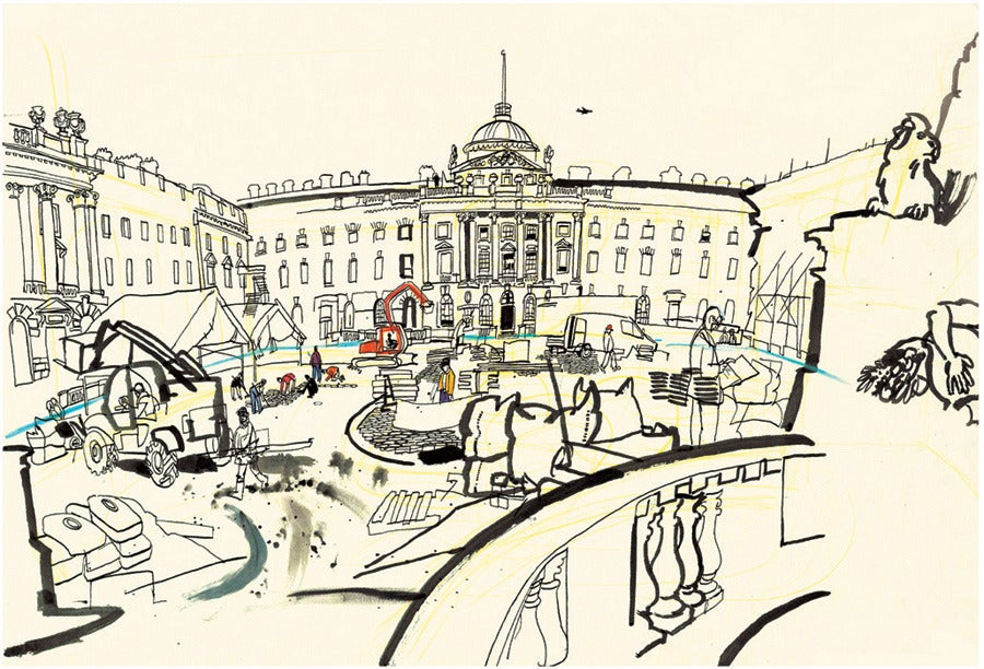Image of Courtyard at Somerset House Print