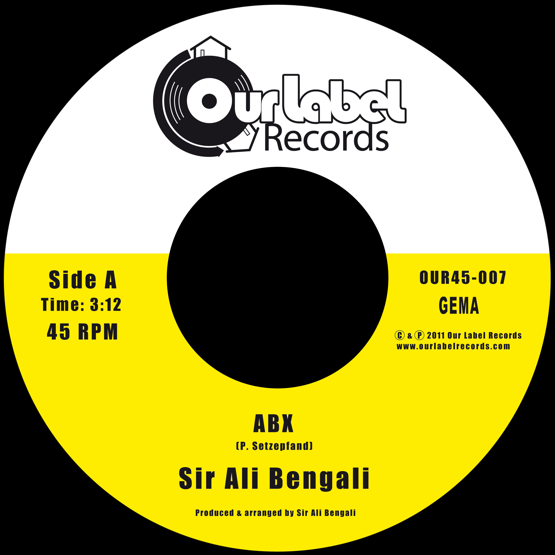 Image of Sir Ali Bengali - ABX / ABX (Instrumental)