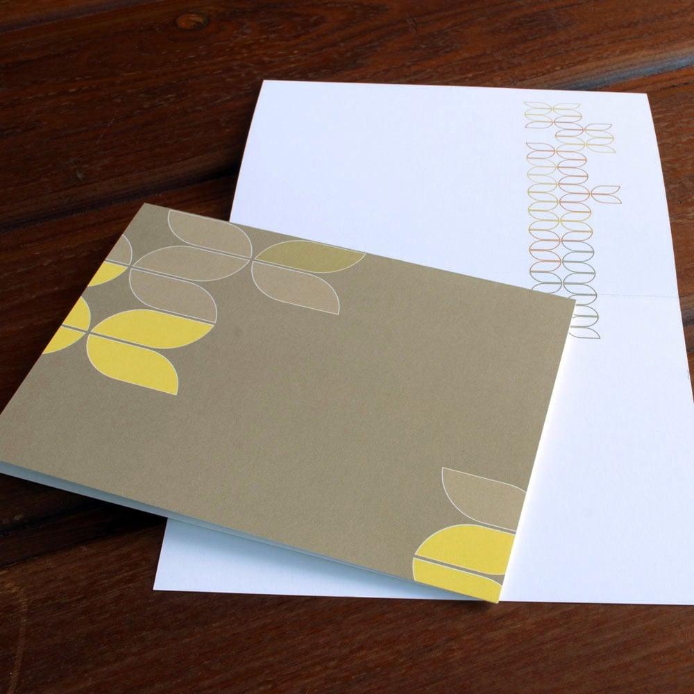 Image of Mod Tulip Card 3