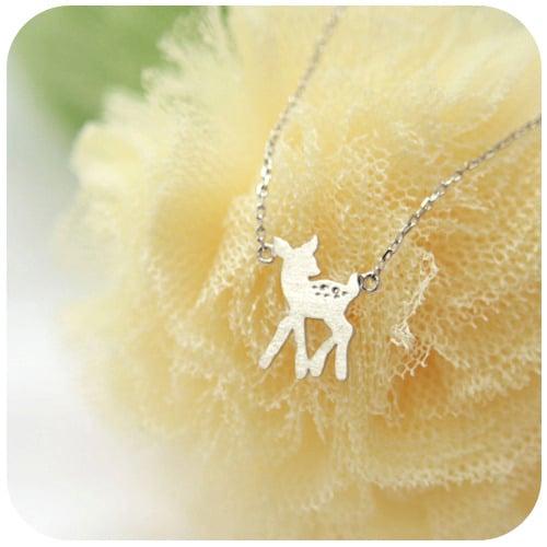 Collier Bambi - Green
