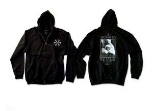Image of Womb to the Tomb' Zip-Up Hoodie
