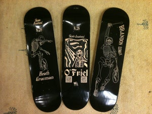 Image of Skate Anatomi Skateboard - Team Decks