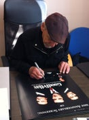 Image of Hand Signed Henry Hill Goodfellas Poster