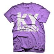 Image of Female Ky Raised in Purple