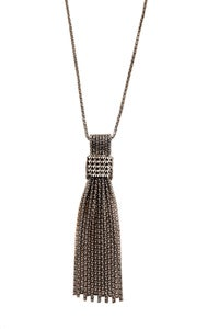 Image of Deco Flapper crystal studded Neclace