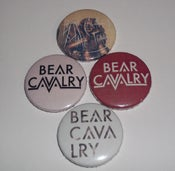 Image of Bear Cavalry Badge Set