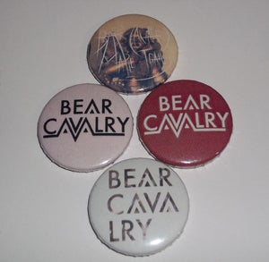 Image of Bear Cavalry Badge Set