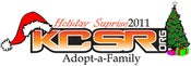 """Image of KCSR.org """"Holiday Suprise"""" Adopt-a-Family Donation 2011"""