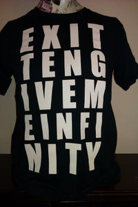 Image of Give Me Infinity - Letter T-Shirt