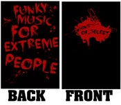 "Image of T-SHIRT ""Funky Music For Extreme People"""