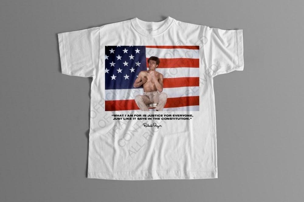 Richard Pryor - American Flag T Shirt