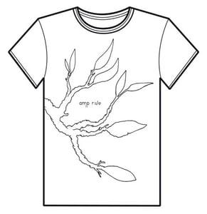 Image of Amp Rive - Man/Girl White T-Shirt