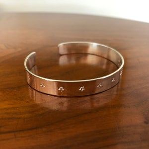 Image of Silver cuff 8 mm