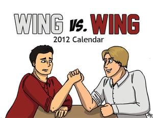 Image of Wing vs. Wing: 2012 Calendar