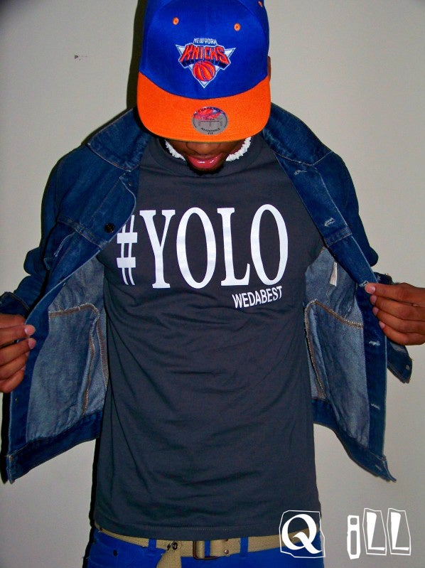 Image of #YOLO GREY SHIRTS