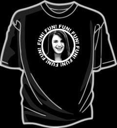 Image of Black Friday (Fun! Fun! Fun! Fun! Rebecca!) shirt