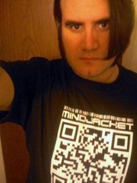 Image of MiNDJACKET QR Code shirt