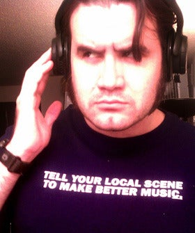 """Image of """"Tell Your Local Scene To Make Better Music"""" shirt"""