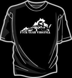 Image of F*CK YEAH VIRGINIA shirt