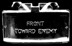 "Image of M18A1 Claymore ""Front Toward Enemy"" shirt"