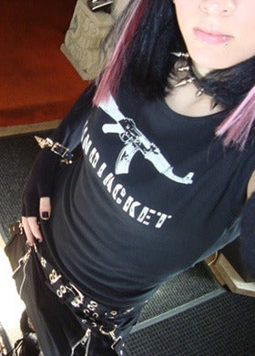Image of MiNDJACKET AK-47 Logo shirt