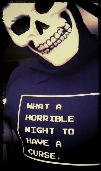 Image of What A Horrible Night To Have A Curse shirt