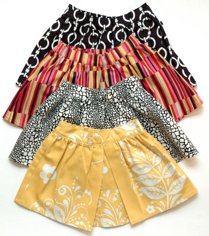 Kennedy Pleat Skirt