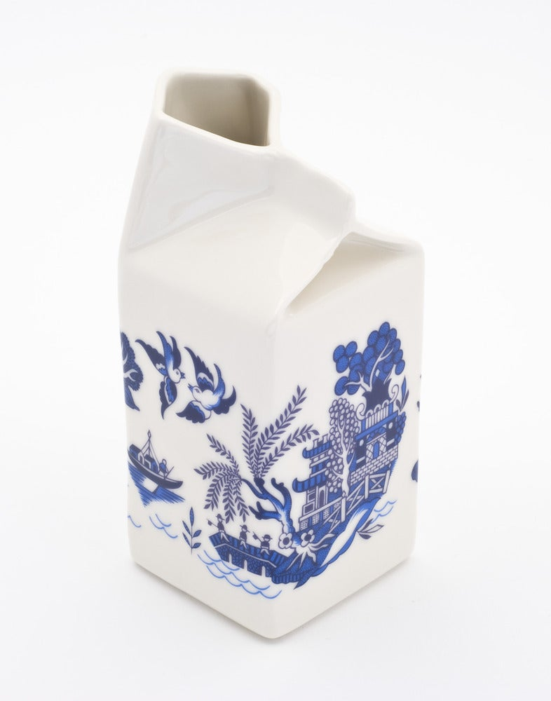 Image of Willow Pattern Milk Jug
