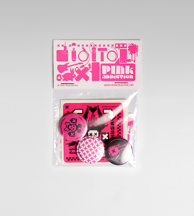 Image of Pink Addiction Pin Pack