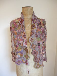 Image of Sophie Digard Scarf (3499MR/GRO)