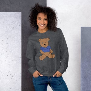 Image of My Shirt is Blue Benny The Bear Sweatshirt
