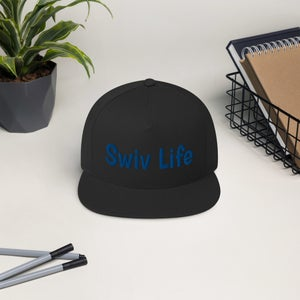 Image of Smooth Blue Swiv Life Hat