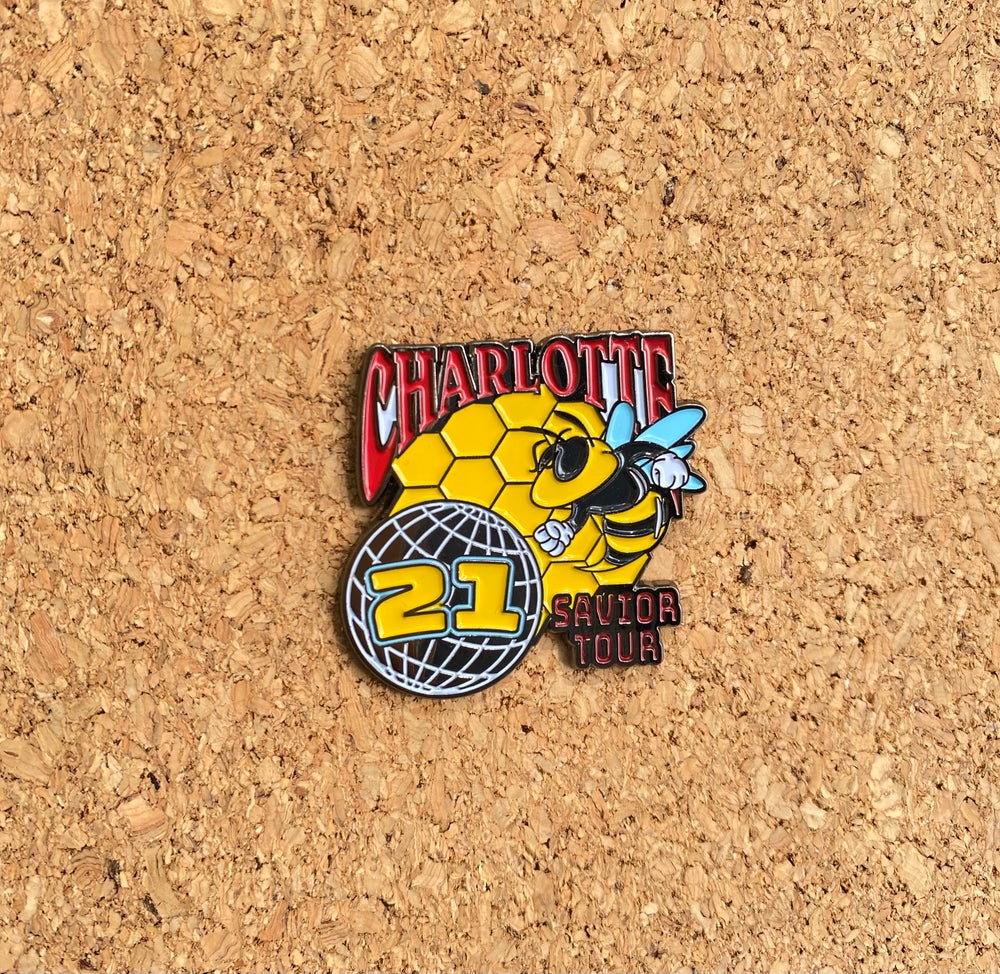 Image of Charlotte Savior Tour 21' Pin by Trippy Pins