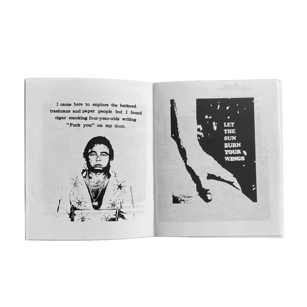 """""""Alive for a little while"""" zine"""