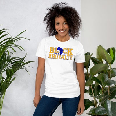 Image of SGRho Pretty Poodle Gold T-Shirt