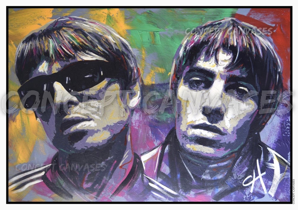 Image of Oasis A3 Print