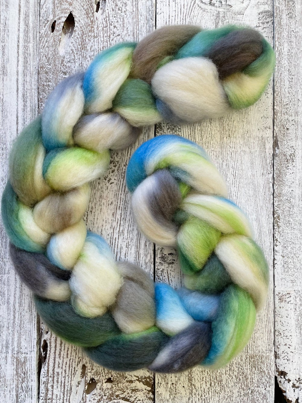 Queen Anne's Lace, on My BFF BFL: 100% Blue Faced Leicester